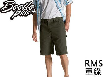 BEETLE PLUS DICKIES RELAXED FIT DX 201 RMS SHORTS 軍綠 工作短褲 帆布