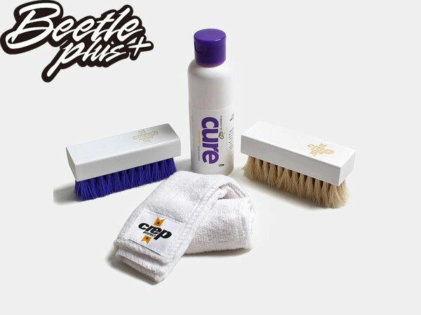 BEETLE PLUS CREP PROTECT CURE 鬃毛刷 纖維布 球鞋保養 清潔組 JASOM MARKK 1
