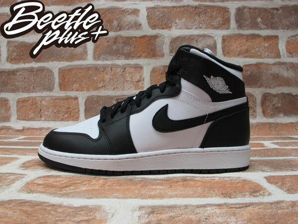 BEETLE PLUS NIKE AIR JORDAN 1 RETRO GS OG 黑白 女鞋 575441-010 0