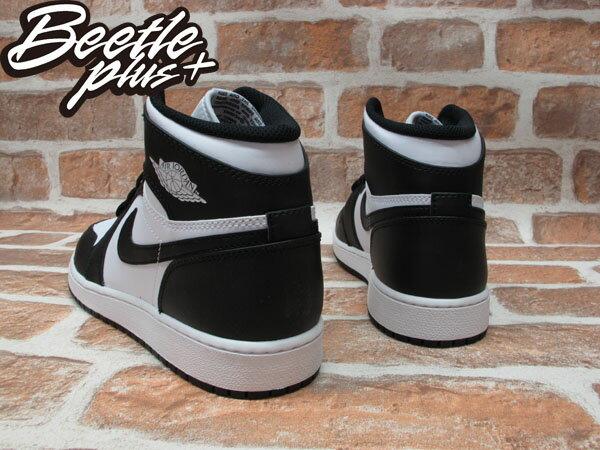 BEETLE PLUS NIKE AIR JORDAN 1 RETRO GS OG 黑白 女鞋 575441-010 2