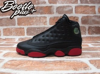 BEETLE PLUS NIKE AIR JORDAN 13 RETRO BG GS 黑紅 女鞋 414574-033