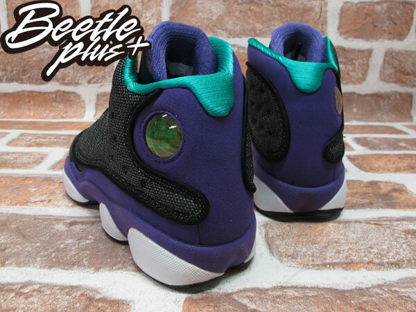 BEETLE PLUS 全新 NIKE AIR JORDAN 13 RETRO GS XIII GIRLS AJ13 黑 葡萄紫 女鞋 439358-027 2