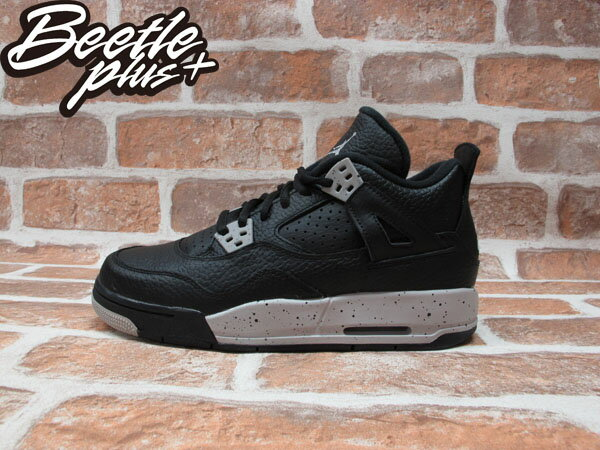 BEETLE PLUS NIKE AIR JORDAN 4 RETRO BG OREO 奧利奧 潑墨 女鞋 408452-003