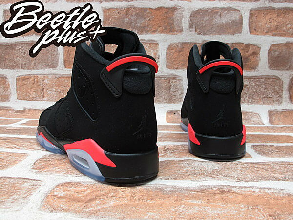 BEETLE PLUS NIKE AIR JORDAN 6 RETRO GS INFRARED 黑紅 女鞋 384665-023 2