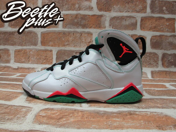 BEETLE NIKE AIR JORDAN 7 RETRO GG 30TH VERDE 黑白 橘紅 綠紅 女鞋 GS 籃球鞋 705417-138