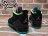 BEETLE PLUS 全新 NIKE AIR JORDAN SON OF LOW BEL AIR 黑紫藍綠 爆裂紋 女鞋 火星之子 580604-028 2