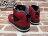BEETLE PLUS NIKE AIR JORDAN SPIZIKE RETRO GS 史派克李 爆裂 AJ合體 黑紅 女鞋 317321-601 2