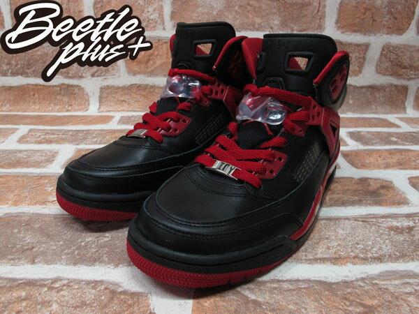 BEETLE PLUS 全新 NIKE AIR JORDAN SPIZIKE ID GS 黑紅 合體 女鞋 史派克李 605243-992 1