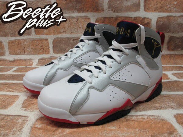BEETLE PLUS NIKE AIR JORDAN 7 VII RETRO OLYMPIC 奧運 白灰 藍紅 美國隊 USA 9號 304775-135 1