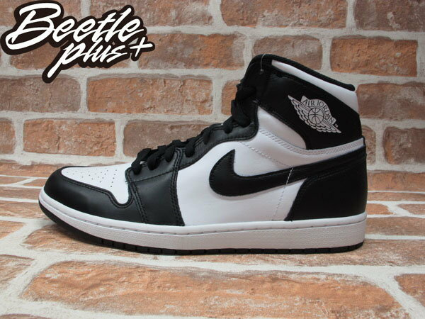 BEETLE PLUS NIKE AIR JORDAN 1 RETRO HIGH OG 黑白 男鞋 555088-010 0