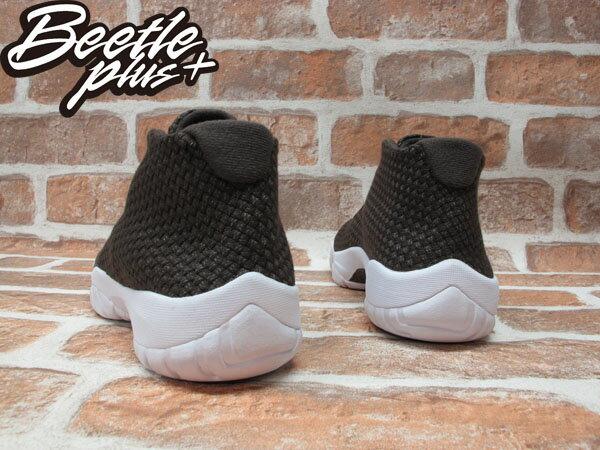 BEETLE NIKE AIR JORDAN FUTURE 喬丹 咖啡 白底 未來 編織 金扣 AJ11 高筒 男鞋 籃球鞋 656503-200 2