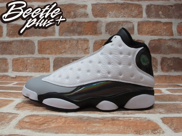 BEETLE PLUS NIKE AIR JORDAN 13 RETRO BARONS 巴龍 白灰 伯爵灰 414571-115 0
