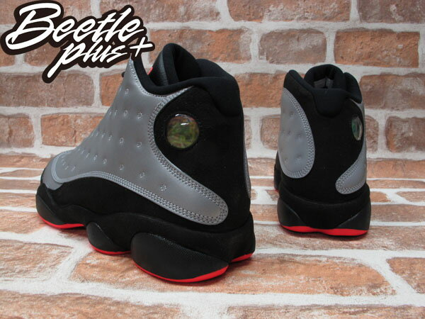 BEETLE PLUS NIKE AIR JORDAN 13 RETRO PRM 3M 反光 黑紅 696298-023 2
