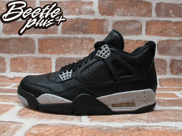 BEETLE PLUS NIKE AIR JORDAN 4 RETRO OREO 奧利奧 男鞋 荔枝皮 314254-003