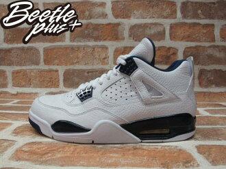 BEETLE PLUS NIKE AIR JORDAN 4 RETRO COLUMBIA 白藍 深藍 4代 荔枝皮 哥倫比亞 男生 喬丹 籃球鞋 314254-107