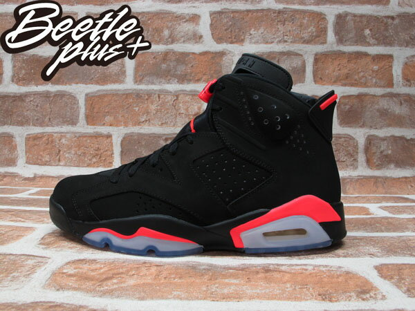 BEETLE PLUS NIKE AIR JORDAN 6 RETRO INFRARED 黑紅 3M 反光 384664-023 0