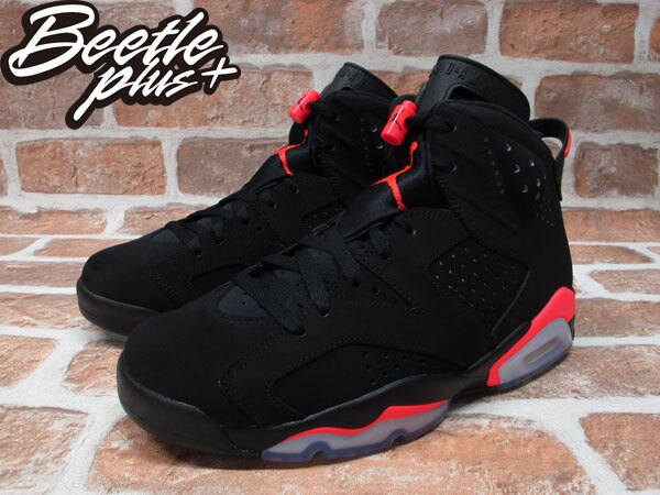 BEETLE PLUS NIKE AIR JORDAN 6 RETRO INFRARED 黑紅 3M 反光 384664-023 1
