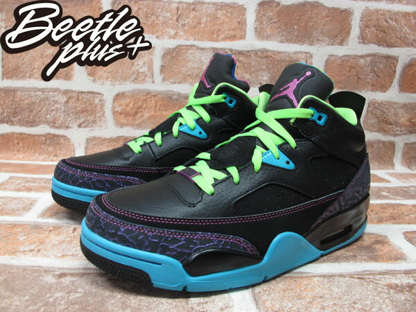 BEETLE PLUS 全新 NIKE AIR JORDAN SON OF LOW 史派克李 BEL AIR 黑 螢光 爆裂紋 火星之子 580603-019 1