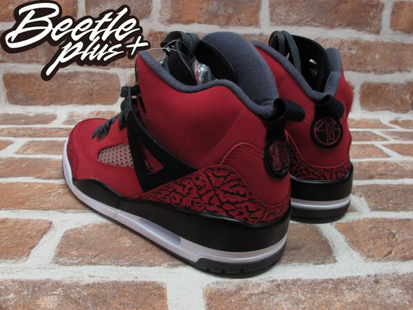 BEETLE PLUS 全新 NIKE AIR JORDAN SPIZIKE MARS BLACKMON AJ合體 史派克李 315371-601 紅 爆裂紋 2