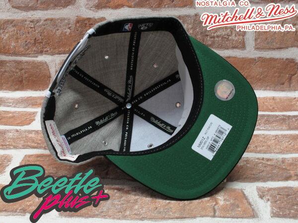 BEETLE PLUS MITCHELL&NESS NBA 布魯克林籃網 BROOKLYN NETS 灰黑 文字 SNAPBACK JAY-Z 後扣棒球帽 MN-161 2