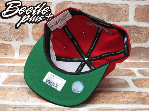 BEETLE PLUS 全新 MITCHELL&NESS NBA CHICAGO BULLS 芝加哥 公牛 XL LOGO 紅黑 SNAPBACK 後扣棒球帽 MN-208 2