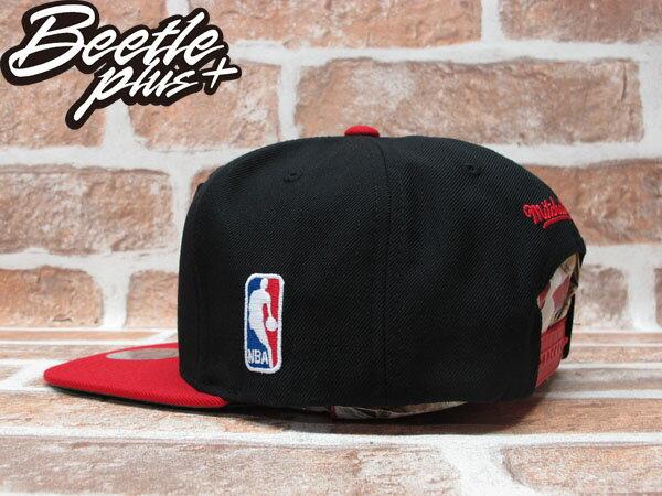 BEETLE PLUS 全新 MITCHELL&NESS NBA PORTLAND TRAILBLAZERS 波特蘭 拓荒者 XL LOGO 黑紅 SNAPBACK MN-209 1