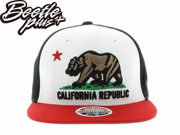 BEETLE PLUS  ZEPHYR CALIFORNIA REPUBLIC 加州熊 白