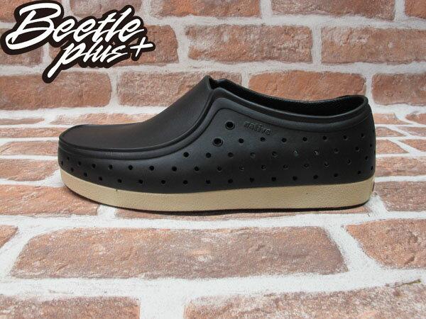 BEETLE PLUS 西門町正規經銷 現貨 NATIVE CORRADO 抗菌 黑白 奶油底 袋鼠鞋 GLM03-001 0