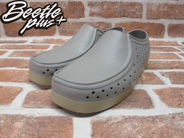 《限時6折免運》BEETLE PLUS 西門町經銷 現貨 NATIVE CORRADO PIGEON GREY 抗菌 淺灰 袋鼠鞋 GLM03-060 1