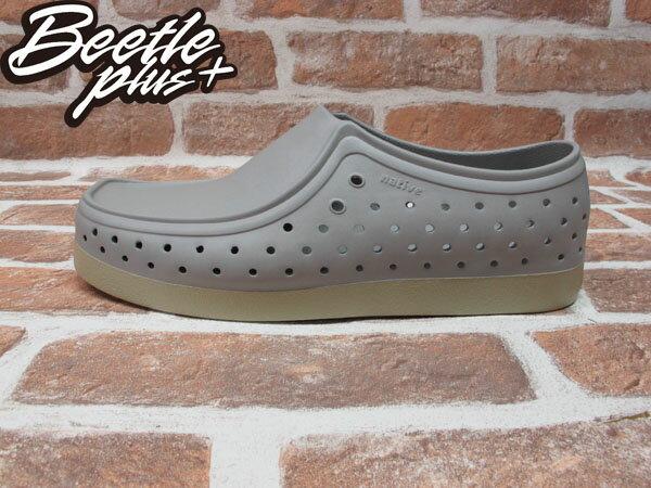 《限時6折免運》BEETLE PLUS 西門町經銷 現貨 NATIVE CORRADO PIGEON GREY 抗菌 淺灰 袋鼠鞋 GLM03-060 0