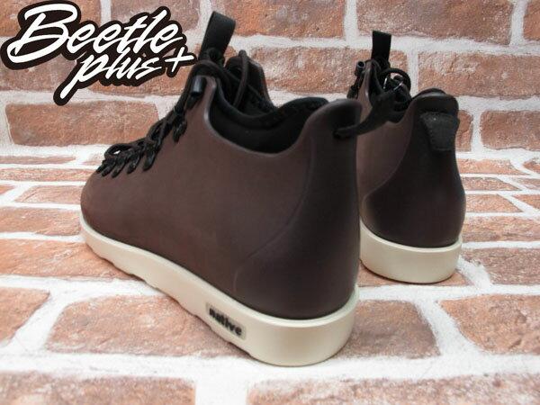 BEETLE PLUS 西門町經銷 全新 加拿大品牌 NATIVE FITZSIMMONS BOOTS 超輕量 登山靴 咖啡 BROWN GLM06-245 2