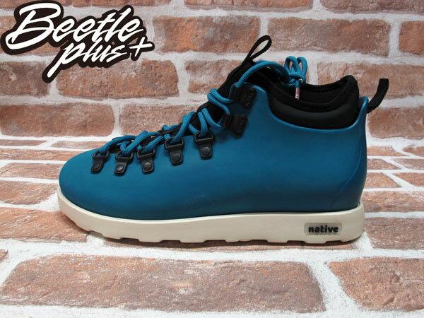 BEETLE PLUS 西門町專賣店 全新 NATIVE FITZSIMMONS BOOTS 登山靴 STADIUM BLUE 土耳其藍 GLM06-471 0