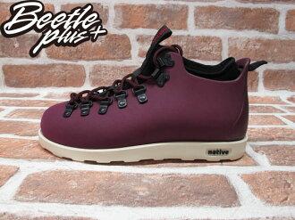 《下殺$1699》西門町專賣店 全新 加拿大 NATIVE FITZSIMMONS BOOTS 超輕量 登山靴 紫色 酒紅 GLM06-643