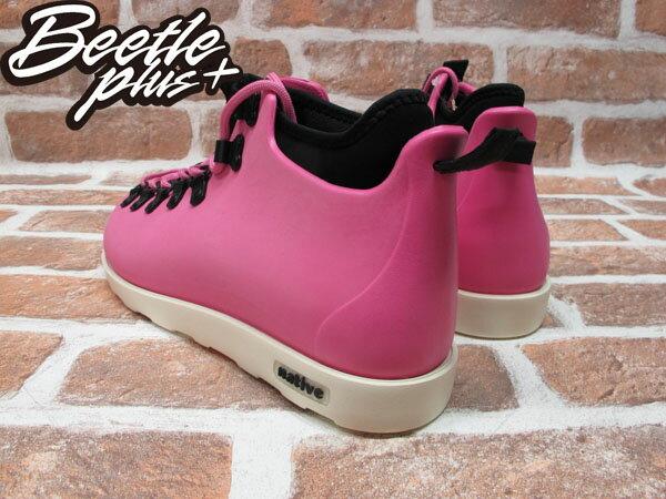 《限時6折免運》BEETLE PLUS 西門町經銷 全新 加拿大品牌 NATIVE FITZSIMMONS BOOTS 超輕量 登山靴 HP PINK VIVI 粉紅 女鞋 GLM06-690 2