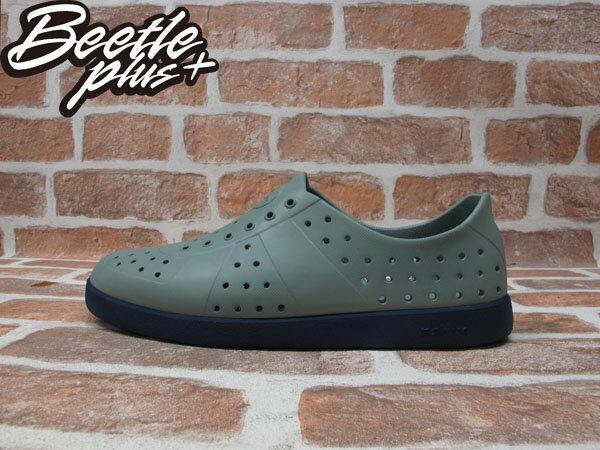 BEETLE PLUS 全新 現貨 NATIVE HUGO 超輕量 德軍訓練鞋 SHUTTLE GREY WIHT REGATTA BLUE 鐵灰 湖藍 雙色 GLM23-070