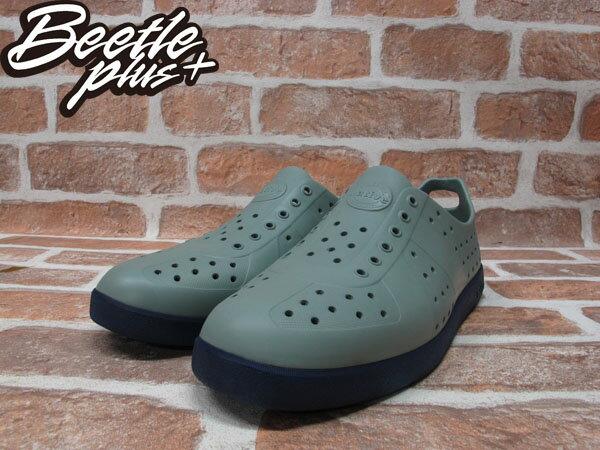 BEETLE PLUS 全新 現貨 NATIVE HUGO 超輕量 德軍訓練鞋 SHUTTLE GREY WIHT REGATTA BLUE 鐵灰 湖藍 雙色 GLM23-070 1