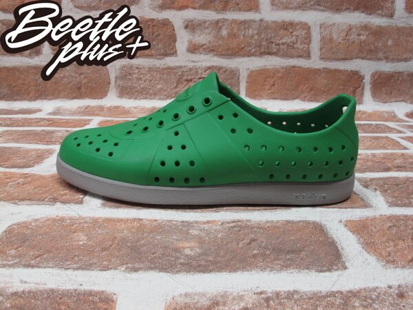 BEETLE PLUS 西門町實體店面 NATIVE HUGO 超輕量 德軍訓練鞋 綠灰 PICNIC GREEN PIGEON GRAY GLM23-361