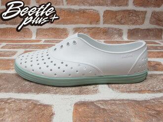 《限時$1699》女鞋 BEETLE PLUS 現貨 全新 NATIVE SHOES JERICHO SHELL WHITE ISLAND GREEN 白綠 湖水綠 馬卡龍 GLM04W-139