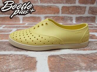 《下殺$1499》BEETLE PLUS 西門町專賣 全新 NATIVE JERICHO MELLOW YELLOW 鵝黃 便鞋 奶油底 女鞋 GLM04W-740