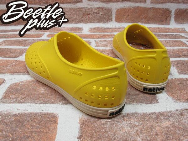 西門町 BEETLE PLUS 全新 NATIVE JERICHO CRAYON YELLOW 蠟筆 黃 超輕 女鞋 GLM04W-752 2