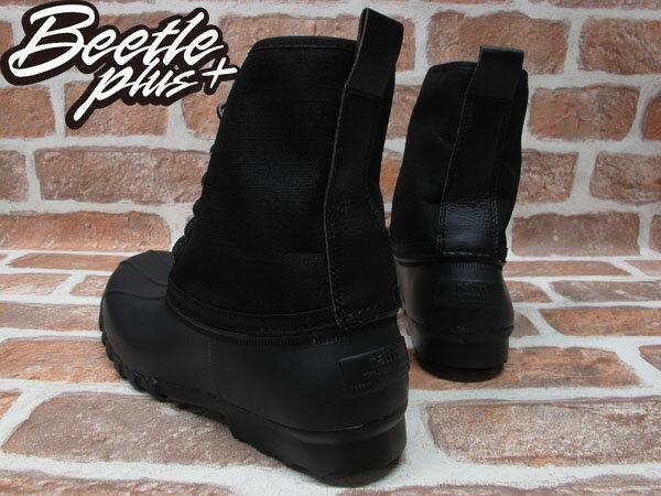《限時6折免運》BEETLE PLUS 全新 NATIVE JIMMY JIFFY BLACK 全黑 紅格紋內裡 獵牙靴 超輕量 GLM15-005 2