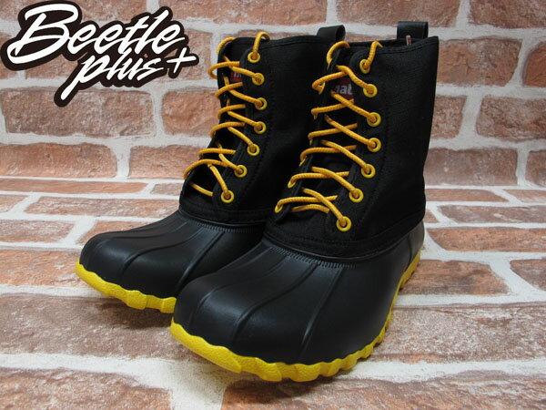 BEETLE PLUS 全新 NATIVE JIMMY JIFFY BLACK CRAYON YELLOW 黑黃 獵牙靴 超輕量 GLM15-011 1