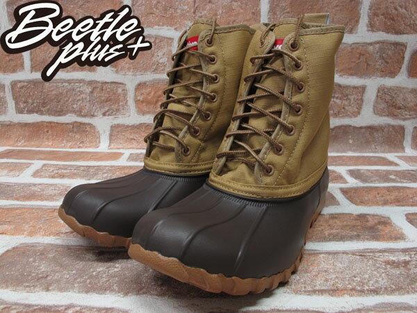 BEETLE PLUS 全新 NATIVE JIMMY PEANUT BROWN 卡其 紅格紋內裡 獵牙靴 超輕量 GLM15-201 1