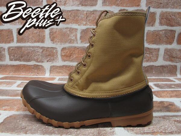 BEETLE PLUS 全新 NATIVE JIMMY PEANUT BROWN 卡其 紅格紋內裡 獵牙靴 超輕量 GLM15-201 0