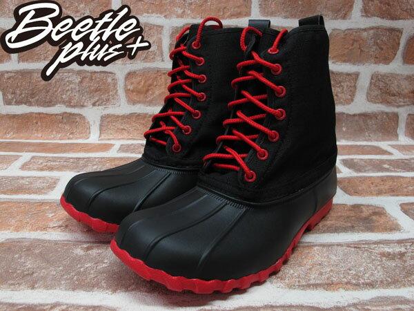《限時6折》BEETLE PLUS 西門町經銷 全新 NATIVE JIMMY JIFFY BLACK TORCH RED 黑紅 超輕量 獵牙靴 GLM15-644 1