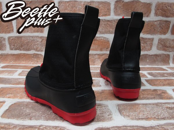 《限時6折》BEETLE PLUS 西門町經銷 全新 NATIVE JIMMY JIFFY BLACK TORCH RED 黑紅 超輕量 獵牙靴 GLM15-644 2