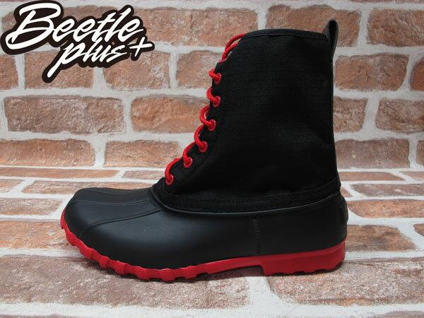 《限時6折》BEETLE PLUS 西門町經銷 全新 NATIVE JIMMY JIFFY BLACK TORCH RED 黑紅 超輕量 獵牙靴 GLM15-644 0