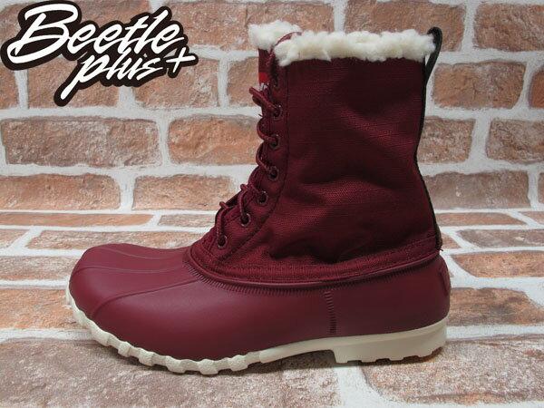 《限時6折》BEETLE PLUS 全新 NATIVE JIMMY WINTERS ARMADA RED 酒紅 鋪毛內裡 獵牙靴 GLM15-932