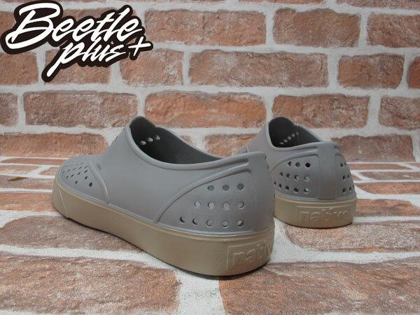 西門町實體店面 BEETLE PLUS 加拿大 NATIVE MILLER 超輕量 便鞋 淺灰色 PIGEON GREY 奶油底 GLM02-060 2