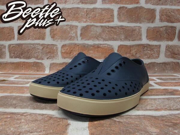 西門町 BEETLE PLUS 全新 現貨 加拿大 NATIVE MILLER 超輕量 便鞋 深藍色 REGATTA BLUE 奶油底 GLM02-485 1